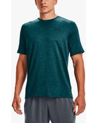 Under Armour Training Vent 2.0 Short Sleeve Gym Top - Green