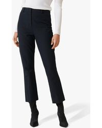 Forever New Kaitlyn Cropped Trousers - Black