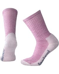 Smartwool Hiking Light Crew Socks - Pink