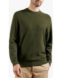 Ted Baker Sunburn Textured Jumper - Green