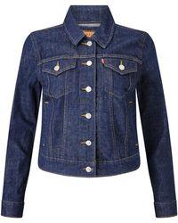 Levi's - Blue Spring Authentic Trucker Jacket - Lyst