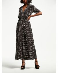 Somerset by Alice Temperley - Acorn Print Jumpsuit - Lyst