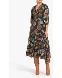 Helen Mcalinden Synthetic Caroline Dress in Natural - Lyst