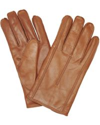 John Lewis - Made In Italy Cashmere Lined Leather Gloves - Lyst