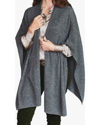 Pure Collection Cashmere Wrap - Grey