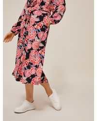 Somerset by Alice Temperley - Chintz Floral Midi Skirt - Lyst