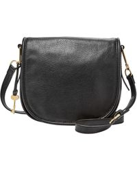 Fossil - Rumi Leather Across Body Bag - Lyst
