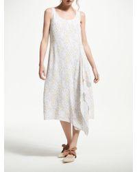 Modern Rarity - Watercolour Daubs Print Dress - Lyst