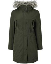 Windsmoor - Faux Fur Lined Parka Coat - Lyst