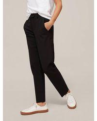 Modern Rarity Straight Leg Trousers - Black