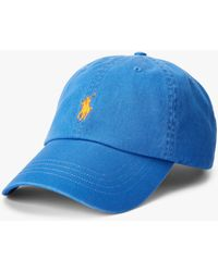 Ralph Lauren Polo Signature Pony Baseball Cap - Blue