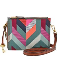 Fossil - Campbell Across Body Bag - Lyst