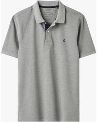 Joules Classic Fit Polo Shirt - Grey
