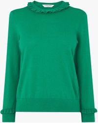 L.K.Bennett Hazel Wool Blend Jumper - Green