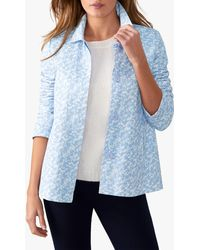 Pure Collection - Soft Cotton Jacket - Lyst