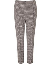 Gerry Weber - Printed Trousers - Lyst