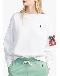 Ralph Lauren - Polo Fleece Back Sweatshirt - Lyst