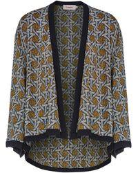 Louche - Malak Contrast Print Kimono - Lyst
