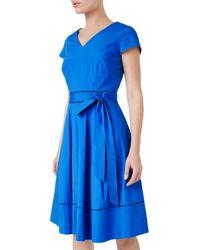 Precis Petite - Bryony Wrap Dress - Lyst