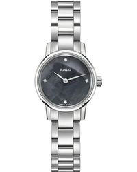 Rado - R22890963 Women's Classic Coupole Mini Diamond Bracelet Strap Watch - Lyst