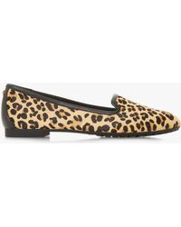 Dune - Genevene Round Toe Loafers - Lyst