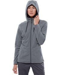 The North Face - Tech Mezzaluna Full Zip Fleece Hoodie - Lyst