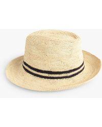 Hush Crochet Panama Hat - Natural