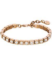 Dyrberg/Kern - Cone Swarovski Crystal Tennis Bracelet - Lyst