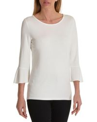 Betty Barclay - Blouse Bell Sleeved Top - Lyst