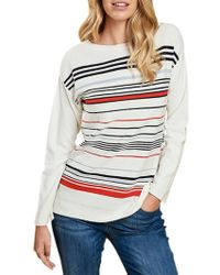 Barbour | Whitby Stripe Jumper | Lyst