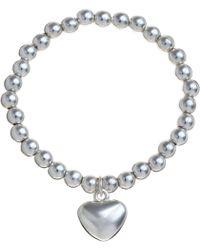 John Lewis - Georgie Bead Heart Bracelet - Lyst