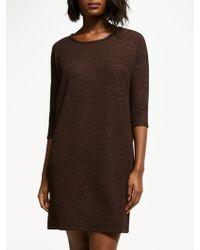 Numph - Irene Textured Jersey Dress - Lyst