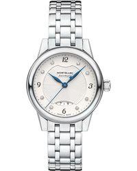 Montblanc - 116498 Women's Boheme Automatic Diamond Date Bracelet Strap Watch - Lyst