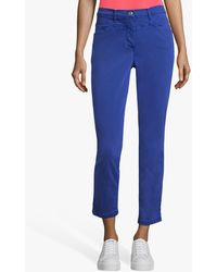 Betty Barclay Sally Cropped Jeans - Blue
