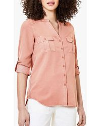 Oasis Utility Shirt - Pink