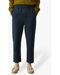 Toast Cotton Twill Pull On Trousers