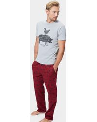 Joules - Selwyn Pheasant Relaxwell Lounge Trousers - Lyst
