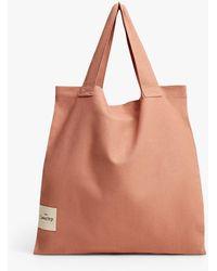 Mango Organic Cotton Shopper Bag - Pink