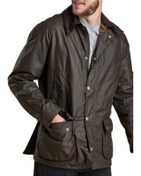 Barbour - Lifestyle Ashby Waxed Cotton Field Jacket - Lyst