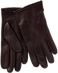 John Lewis - Fleece Lined Leather Gloves - Lyst