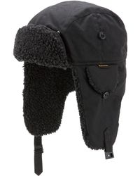 Barbour - Trapper Hat With Fleece Lining - Lyst