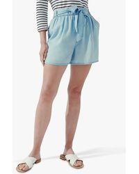 Crew Tie Waist Shorts - Blue