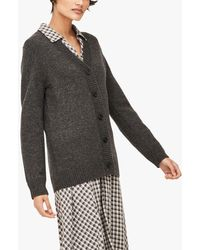 Thought Irena Long Button Cardigan - Grey