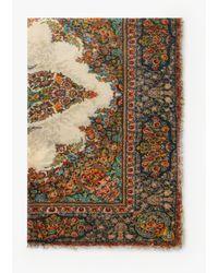 Gerard Darel Ghalia Floral Print Scarf - Natural