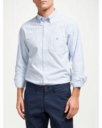 GANT - Oxford Two Colour Banker Regular Fit Shirt - Lyst