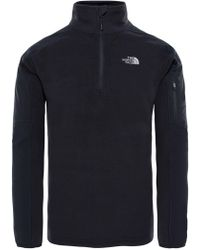 The North Face - Glacier Delta Quarter Zip Fleece - Lyst