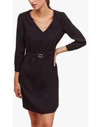Gerard Darel Justina Tailored Mini Dress - Black