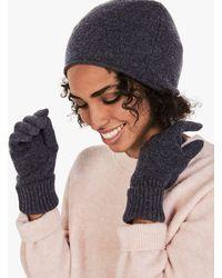 Hush Cashmere Beanie Hat - Multicolour