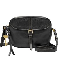 Fossil - Kendall Leather Across Body Bag - Lyst