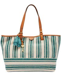 Fossil - Rachel Cotton Tote Bag - Lyst